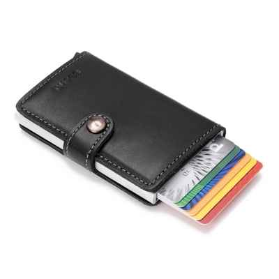 ff41df20e44 Secrid Mini Wallet Original Black pasjeshouder. €49.95