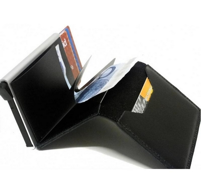4448590c83c Secrid Slim Wallet Original Black pasjeshouder