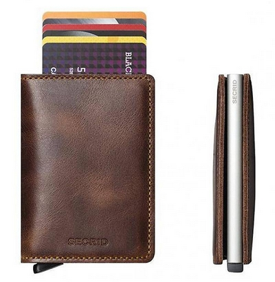 Secrid Slim Wallet Vintage brown