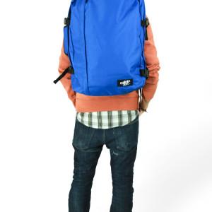 cabinzero classic royal blue handbagage rugzak