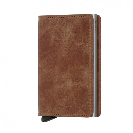 Secrid Slim Wallet Cognac